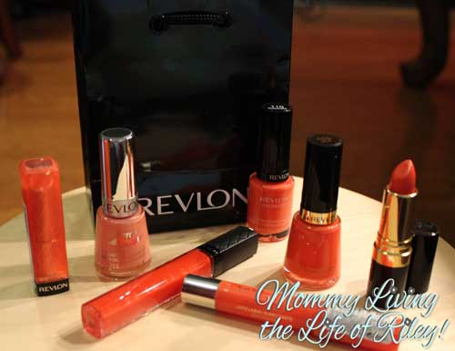Revlon Summer Accessories Coral Cosmetics Collection