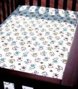Summer Infant Team Monkey SwaddleMe 8-Piece Bedding Set