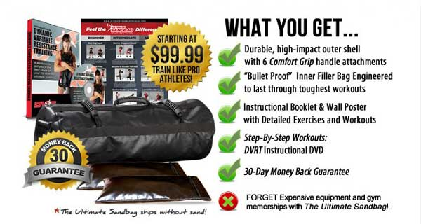 Ultimate Sandbag Fitness: Power Package