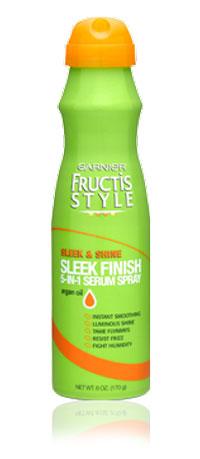 Garnier Fructis Style Sleek Finish 5-in-1 Serum Spray