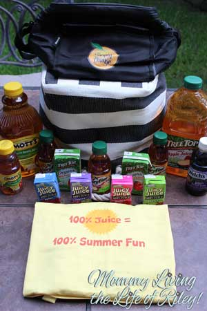 Juice Products Association 100% Juice 100% Summer Fun Prize Pack