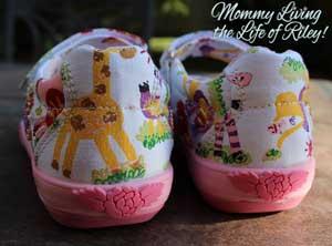 Lelli Kelly Zoo Girls Canvas Beaded Shoes
