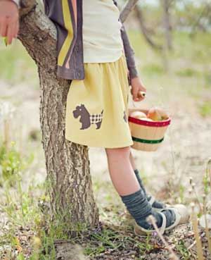 Matilda Jane Clothing Scotty Skirt