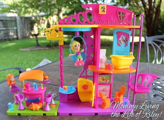 Polly Pocket Hangout House Playset