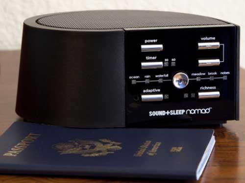 Sound+Sleep nomad Adaptive Sound Sleep Machine