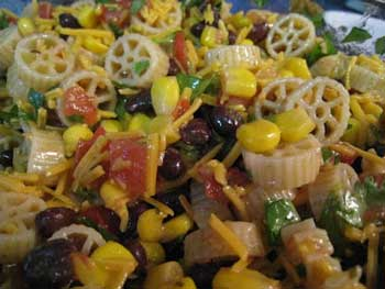 Wheels-on-the-Bus Pasta Salad