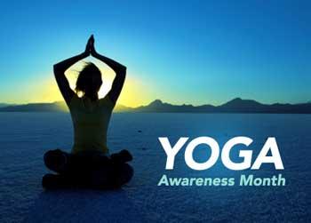 National Yoga Month