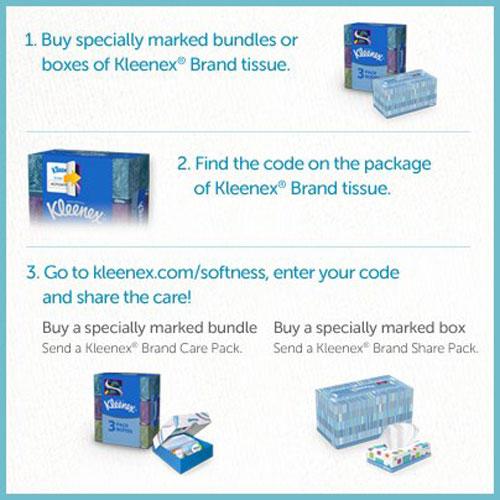 Kleenex Care Pack