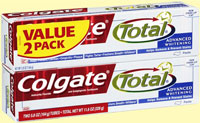 Colgate Total Advanced Value 2-Pack