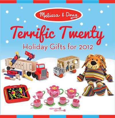 Melissa & Doug Terrific Twenty Holiday Toys