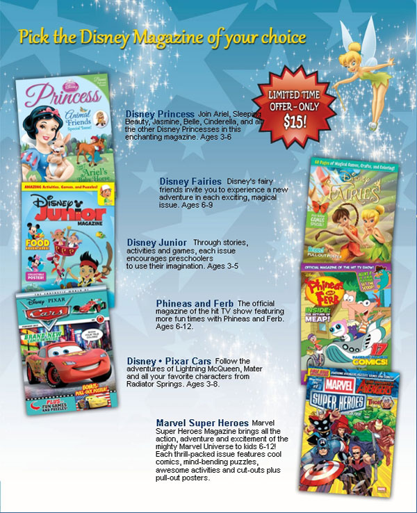 Disney Magazines