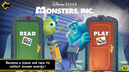 Monsters Inc. Storybook Deluxe App