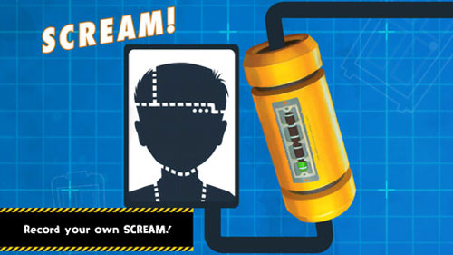 Monsters Inc. Scream Generator