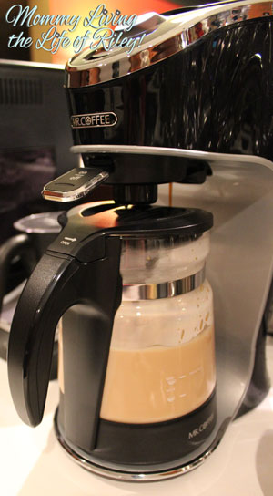 Mr. Coffee in Action