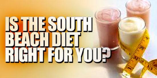 South Beach Diet Phase One