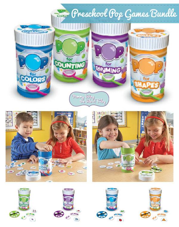 Learning Resources Preschool Pop Games Bundle
