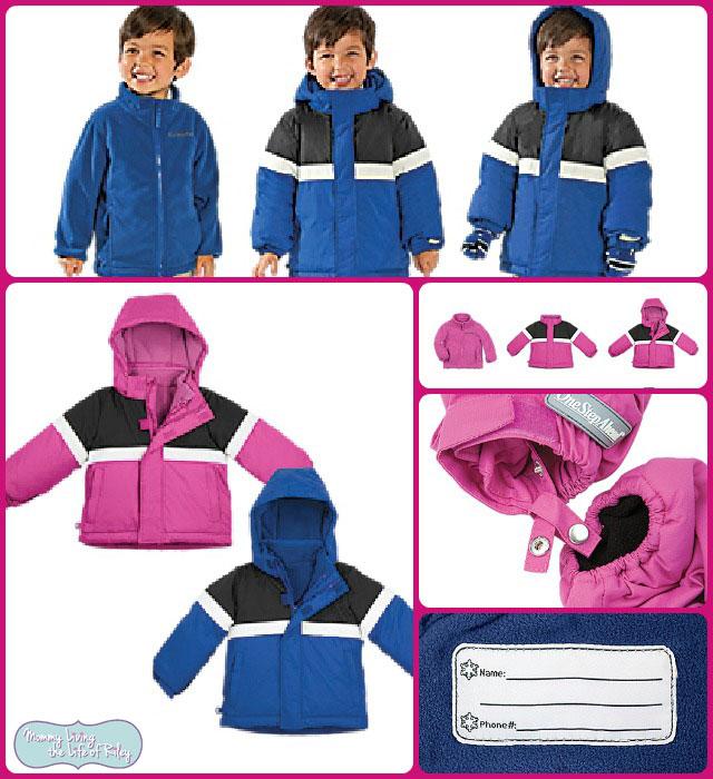 One Step Ahead Kids 3-in-1 Snow Jacket