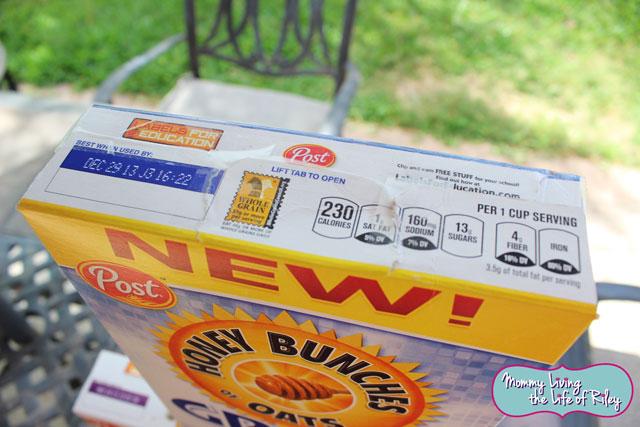 Honey Bunches of Oats Greek Honey Crunch