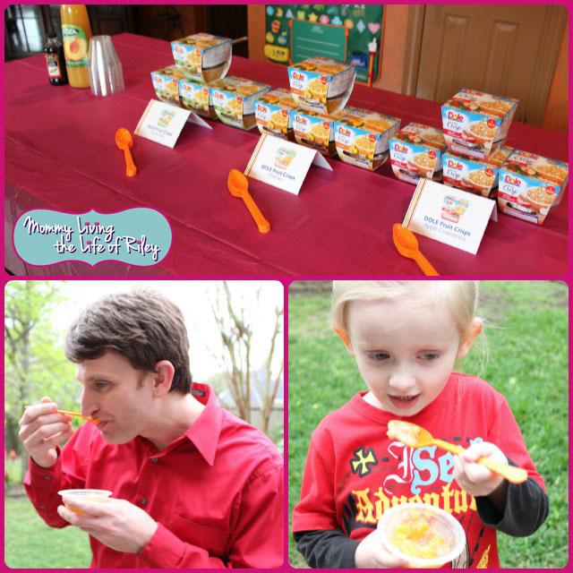 DOLE Fruit Crisp Party