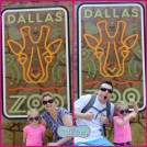 Kicking Up Our Heels at the Dallas Zoo