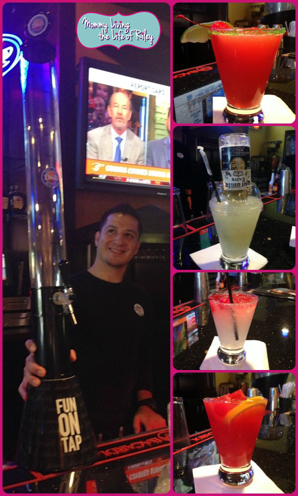New Summer Drinks at Dave & Busters