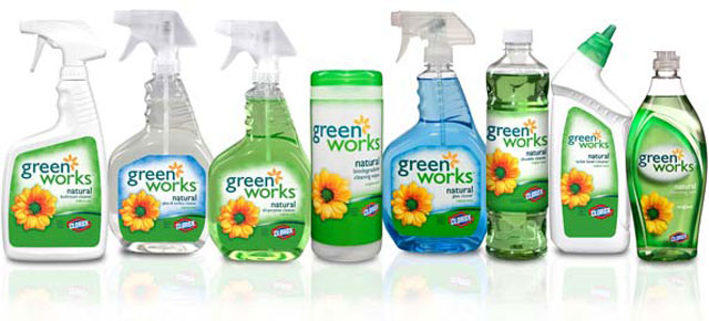 Clorox Green Works Products